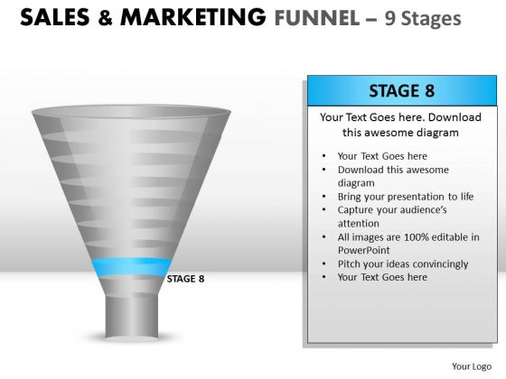 Show Your Marketing Strategy With Funnel PowerPoint Slides And Ppt Diagram Templates
