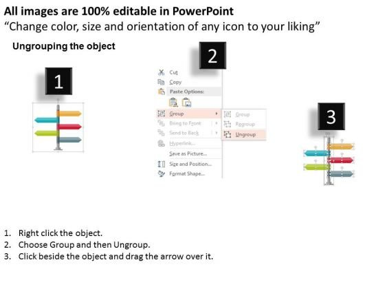 signpost_infographic_for_business_planning_powerpoint_templates_2