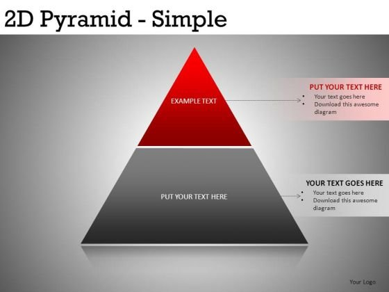 Simple Pyramid PowerPoint Ppt Templates