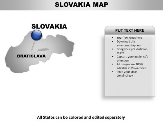 Slovakia Country PowerPoint Maps