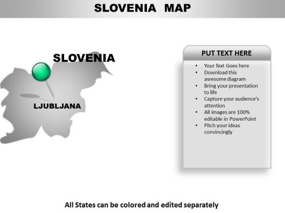 Slovenia Country PowerPoint Maps
