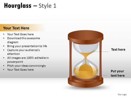 Slow Time Hourglass 1 PowerPoint Slides And Ppt Diagram Templates