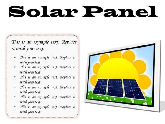 Solar Panel Powerpoint Templates Slides And Graphics