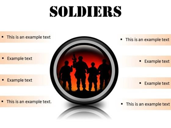 Soldiers Youth PowerPoint Presentation Slides Cc