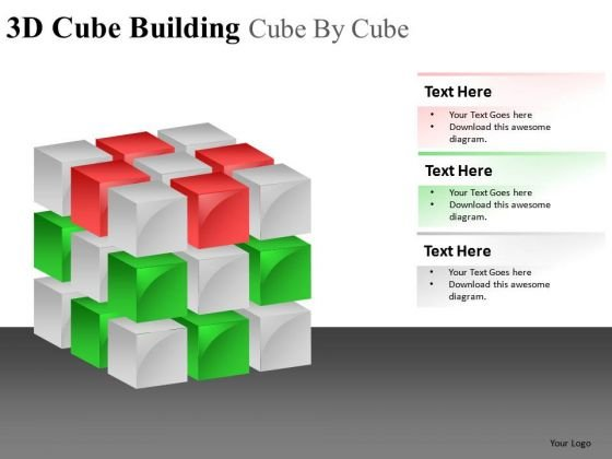 Solution 3d Cubes PowerPoint Slides And Ppt Diagram Templates