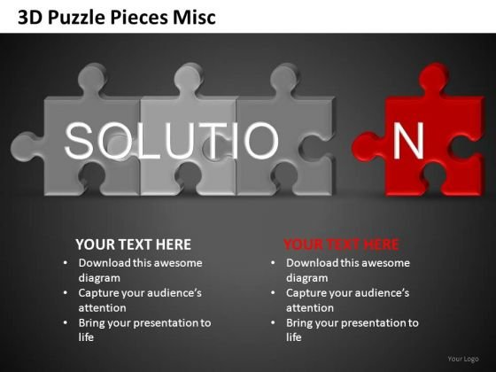 Solution Puzzle Ppt