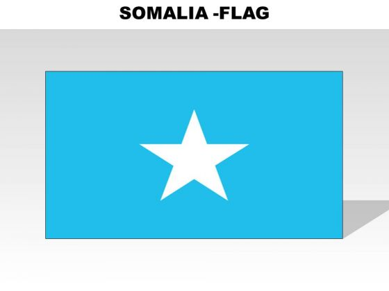 Somalia Country PowerPoint Flags