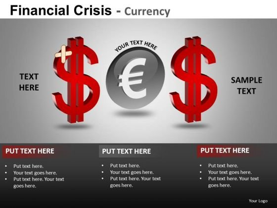 Sos Euro Finance PowerPoint Templates