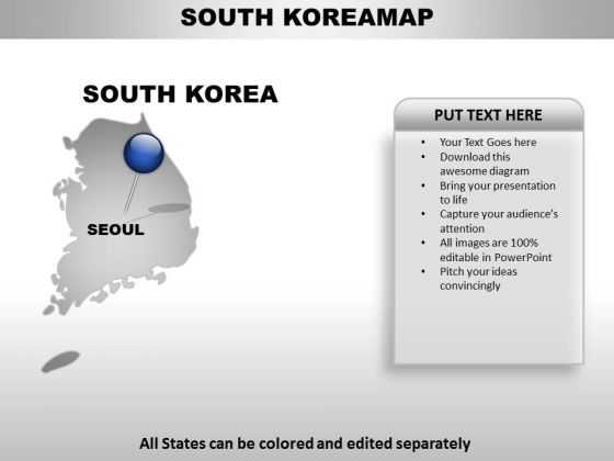 Editable south korea ppt map powerpoint templates slides and graphics check out our best designs of editable south korea ppt map powerpoint templates toneelgroepblik Images
