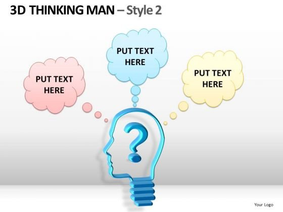 Speaking Bubbles PowerPoint Templates Questions Ppt Slides