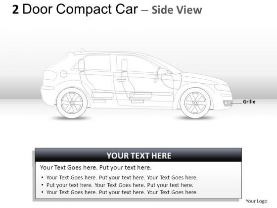 Speed Luxury 2 Door Blue Car Side PowerPoint Slides And Ppt Diagram Templates