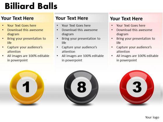 Sphere Billiard Balls PowerPoint Slides And Ppt Diagram Templates