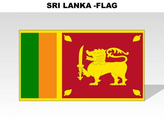 Sri Lanka Country PowerPoint Flags