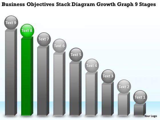Stack Diagram Growth Graph 9 Stages Ppt 8 Successful Business Plan Examples PowerPoint Slides