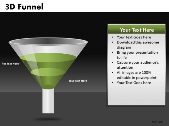 Stage 2 Conversion Funnel Graphic PowerPoint Templates Ppt Slides