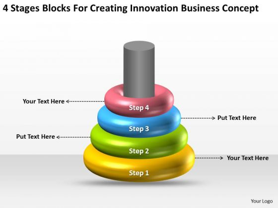 Stages Blocks For Creating Innovation Business Concept Ppt Score Plan PowerPoint Slides