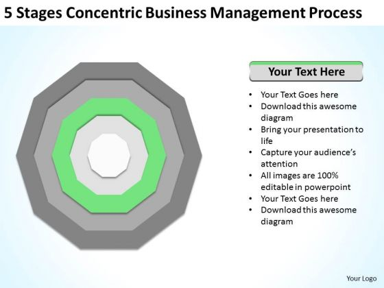 Stages Concentric Business Management Process Ppt Strategic Plans PowerPoint Templates