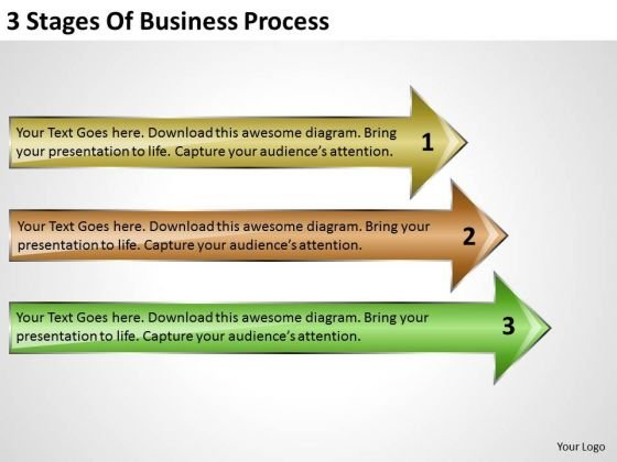 Stages Of Business PowerPoint Presentation Process Restaurant Plans Slides