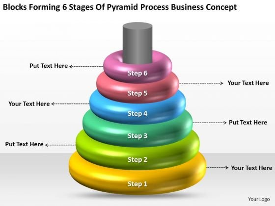 Stages Of Pyramid Process Business Concept Ppt Best Plan Templates PowerPoint