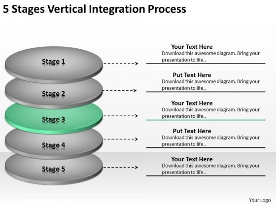 Stages Vertical Integration Process Ppt Photography Business Plan