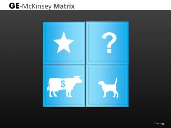 Star Cash Cow Question Company Mckinsey Matrix PowerPoint Slides