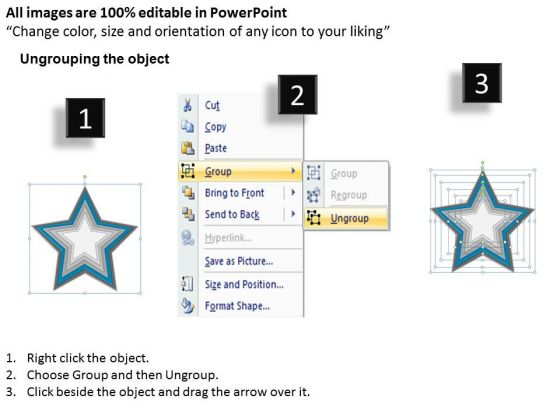 star_shaped_interconnected_6_factors_ppt_business_plan_consultant_powerpoint_slides_2