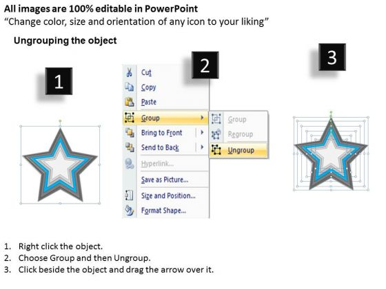 star_shaped_interconnected_6_factors_ppt_business_plan_outline_powerpoint_templates_2