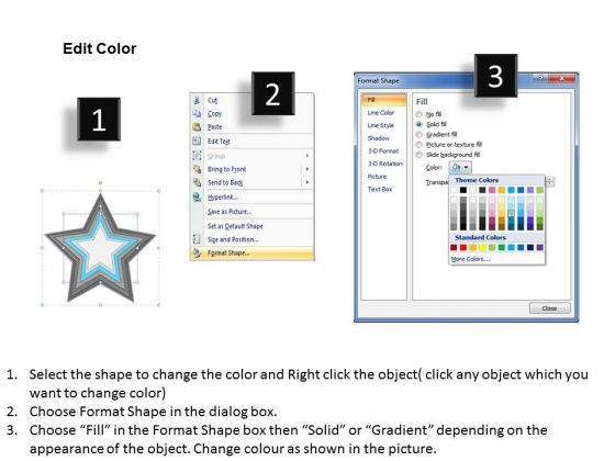 star_shaped_interconnected_6_factors_ppt_business_planning_tools_powerpoint_slides_3