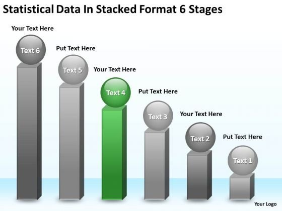 Statisctical Data In Stacked Format 6 Stages Ppt Template Business Plan PowerPoint Slides