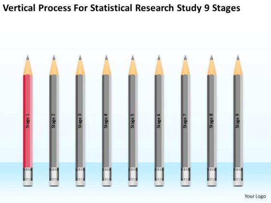 Statisctical Research Study 9 Stages Ppt Business Plans Template PowerPoint Slides