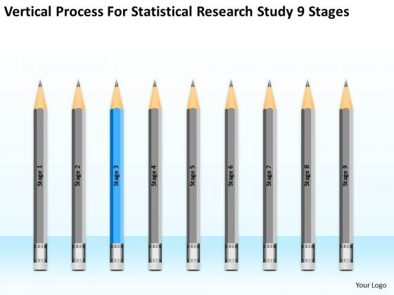 Statisctical Research Study 9 Stages Ppt How Do Start Business Plan PowerPoint Slides