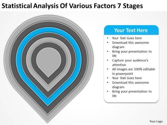 Statistical Analysis Of Various Factors 7 Stages Buy Business Plans PowerPoint Templates