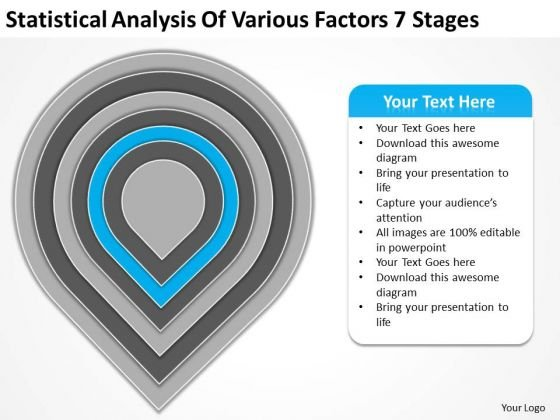 Statistical Analysis Of Various Factors 7 Stages Ppt Business Plan PowerPoint Slides