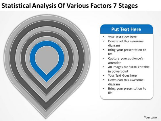 Statistical Analysis Of Various Factors 7 Stages Ppt Formulate Business Plan PowerPoint Slides
