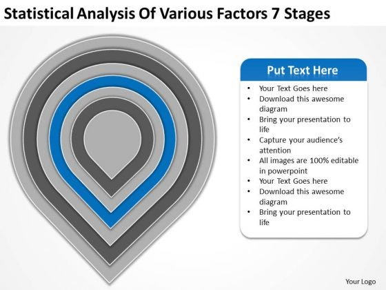 Statistical Analysis Of Various Factors 7 Stages Ppt Linear Flow Rate PowerPoint Slides
