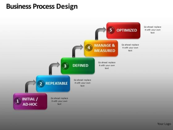 Step Process Flowchart Diagrams PowerPoint Slides