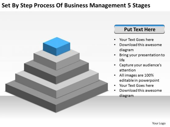 Step Process Of Business Management 5 Stages Ppt Plan Companies PowerPoint Templates