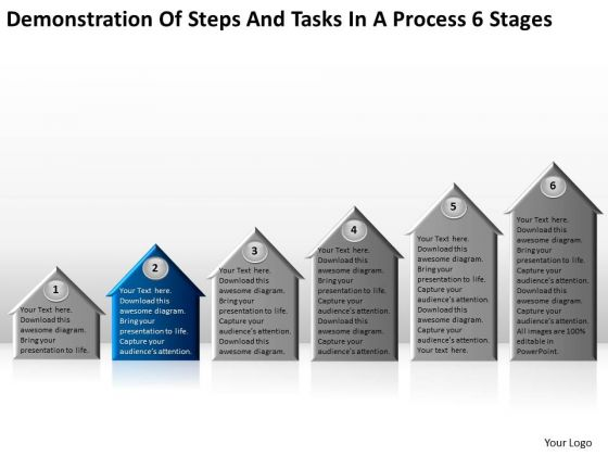 Steps And Tasks In Process 6 Stages Business Continuity Plan Example PowerPoint Slides