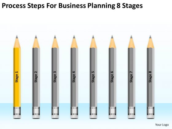 Steps For Business Planning 8 Stages Ppt PowerPoint Templates