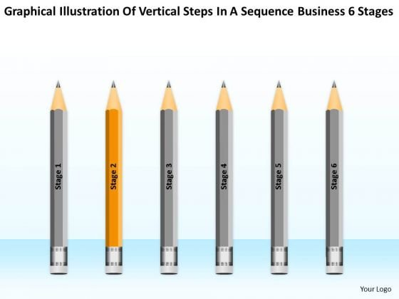Steps In A Sequence Business 6 Stages Ppt Plan Development PowerPoint Templates