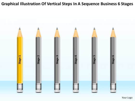 Steps In A Sequence Business 6 Stages Ppt Software Company Plan PowerPoint Slides
