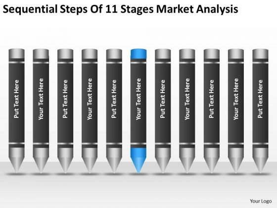 Steps Of 11 Stages Market Analysis Ppt Business Plan Example PowerPoint Templates