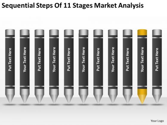 Steps Of 11 Stages Market Analysis Ppt Business Plan PowerPoint Templates