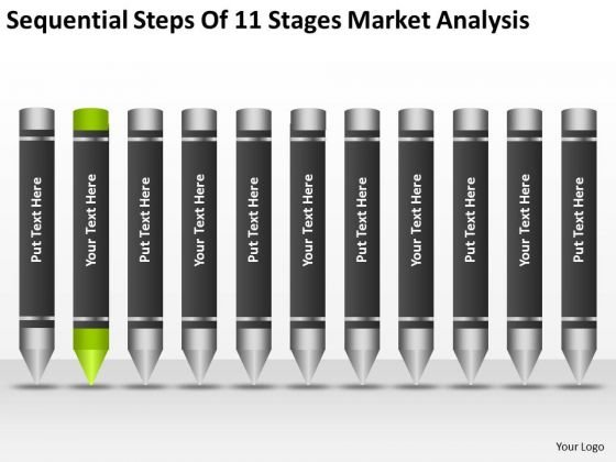 Steps Of 11 Stages Market Analysis Ppt Business Plan Proposal Template PowerPoint Slides