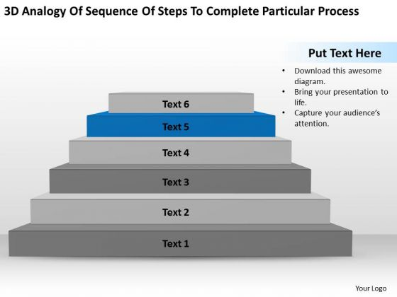 Steps To Complete Particular Process Ppt Business Plans For Dummies PowerPoint Templates