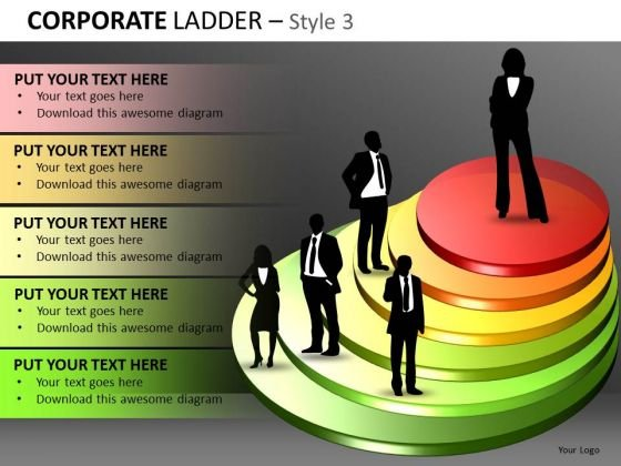 Steps To Success PowerPoint Templates Download