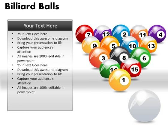 Stick Billiard Balls PowerPoint Slides And Ppt Diagram Templates