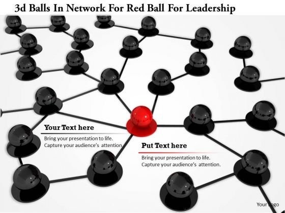 stock_photo_3d_balls_in_network_for_red_ball_for_leadership_powerpoint_slide_1