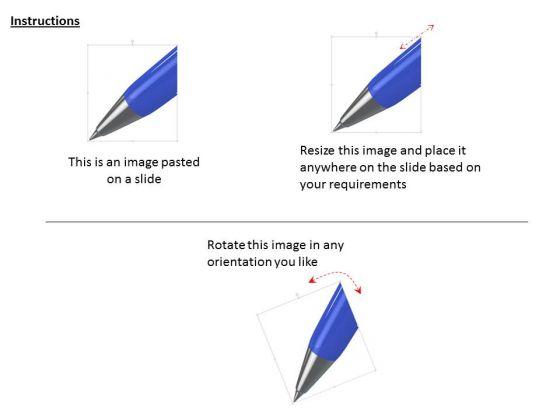 stock_photo_3d_blue_pen_for_writing_work_powerpoint_slide_2