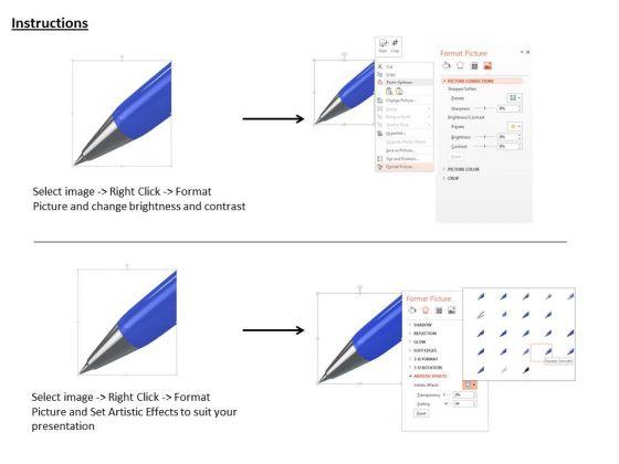 stock_photo_3d_blue_pen_for_writing_work_powerpoint_slide_3